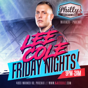 TGIF Fridays @ Phillys On Warner @ Phillys On warner