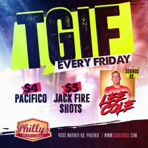 TIGF EVERY FRIDAY @ @Pacifico
